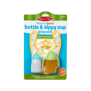 Melissa & Doug - Mine to Love Bottle & Sippy Cup Play Set