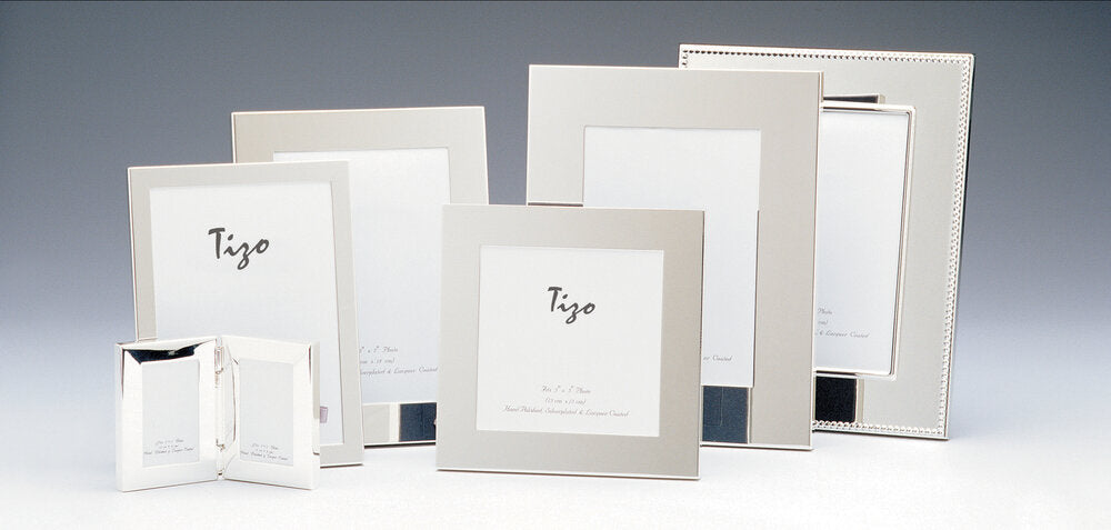 Tizo - Simple Silver Plated Picture Frame
