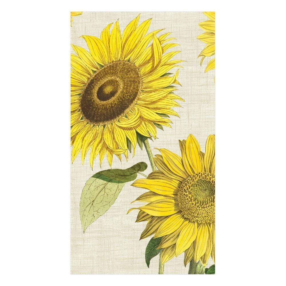 Caspari - Under the Sun Paper Guest Towel Napkins - 15 Per Package