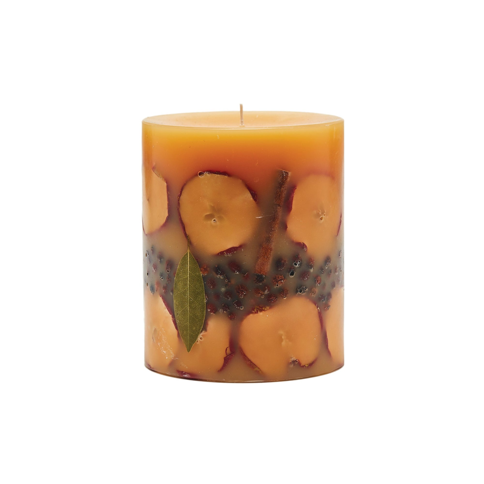 Rosy Rings - Spicy Apple Medium Round Candle