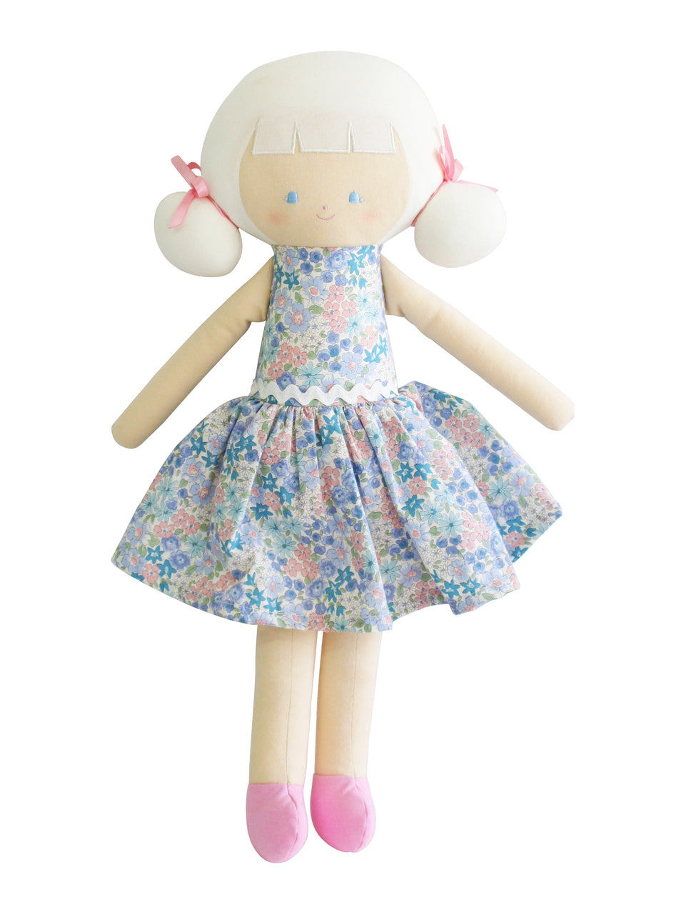 Alimrose - Large Audrey Doll 50cm Liberty Blue