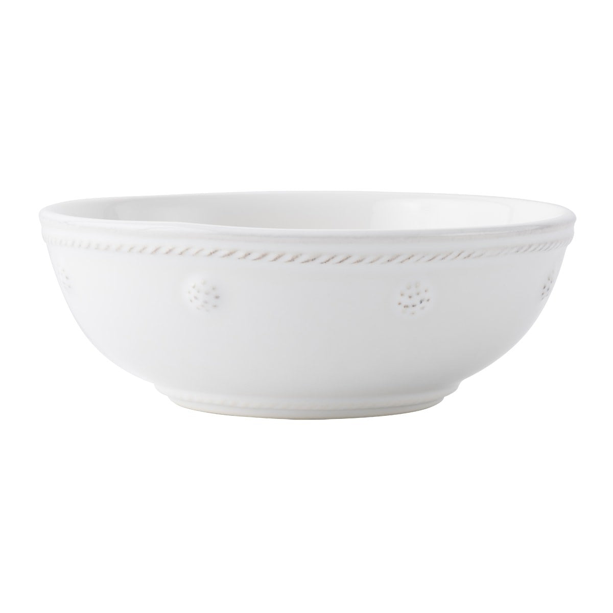 "Juliska - Berry & Thread Whitewash 6"" Coupe Bowl"