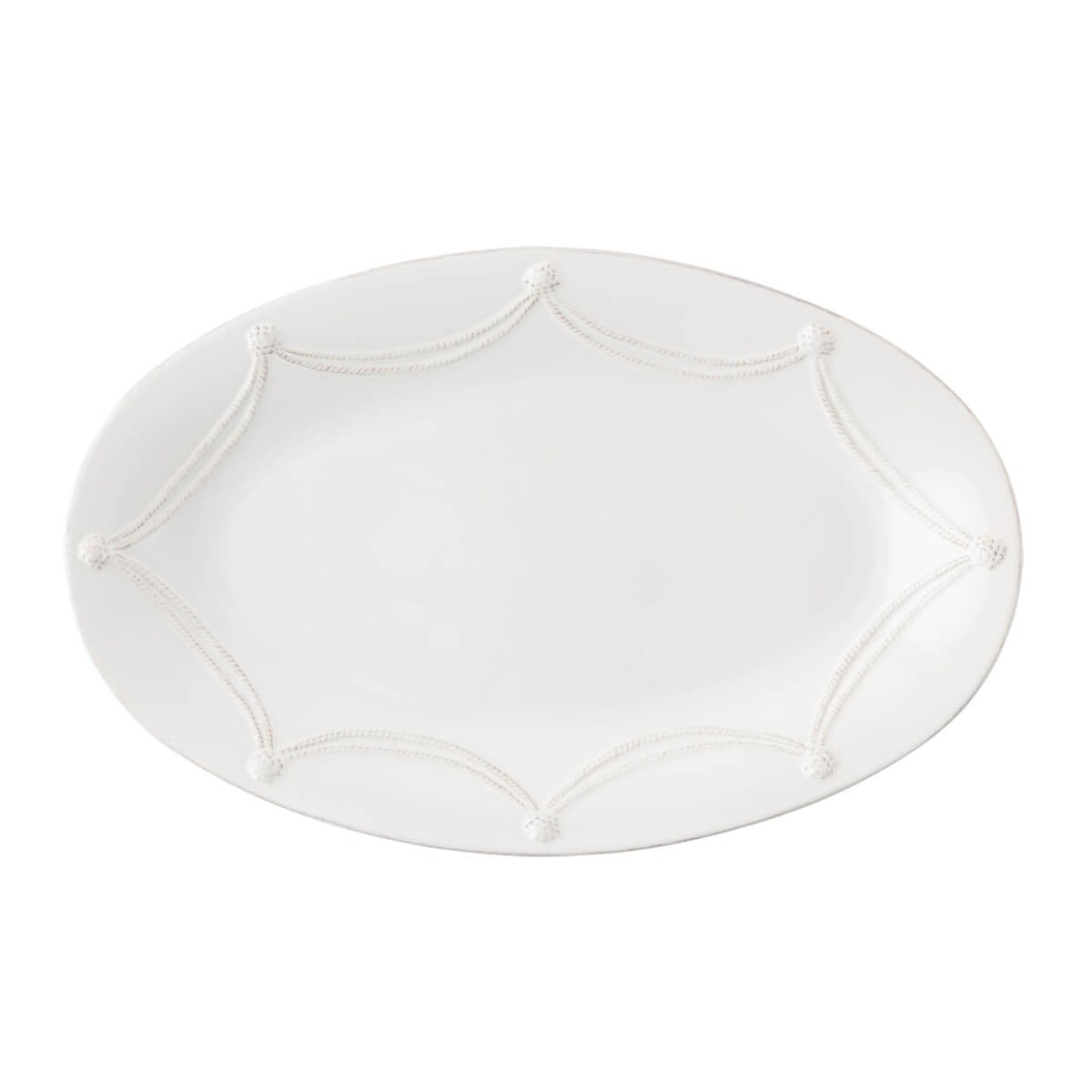 "Juliska - Berry & Thread Whitewash 18"" Oval Platter"