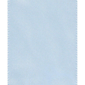 Caspari - Solid Light Blue Wired Ribbon - 9 Yard Spool