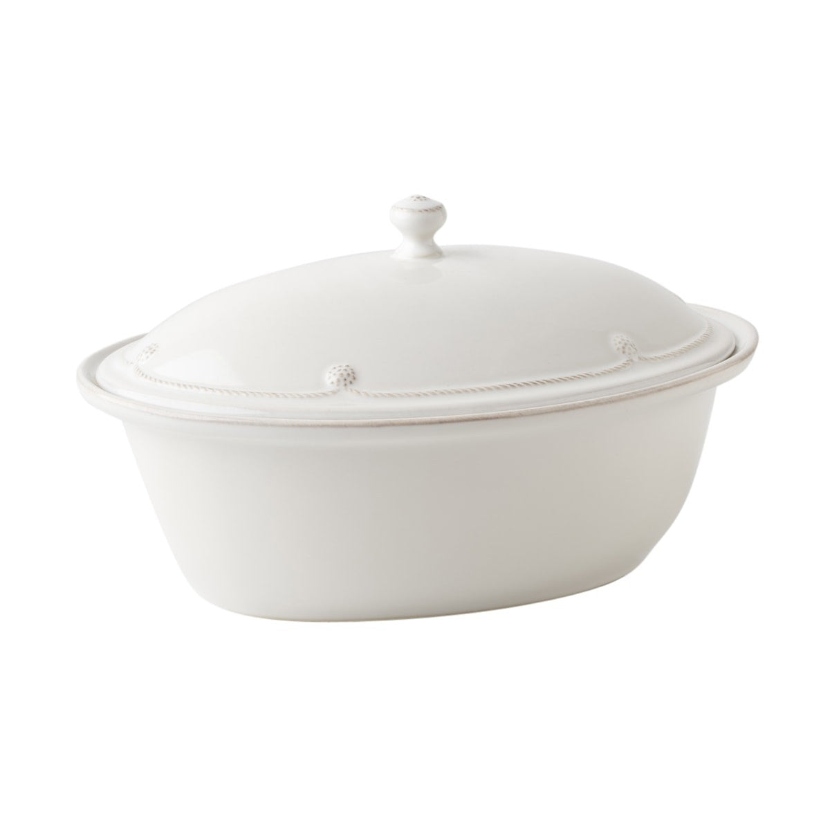 "Juliska - Berry & Thread Whitewash 13"" Covered Casserole"