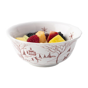 Juliska - Country Estate Winter Frolic Ruby Cereal/Ice Cream Bowl