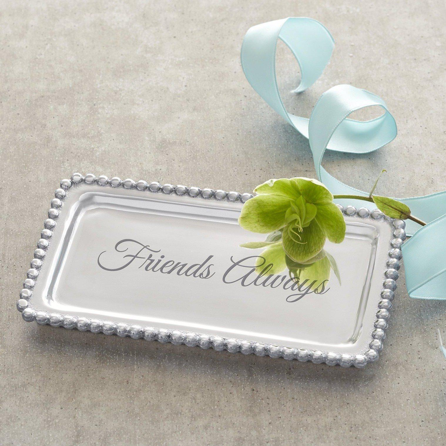 Mariposa - FRIENDS ALWAYS Beaded Statement Tray