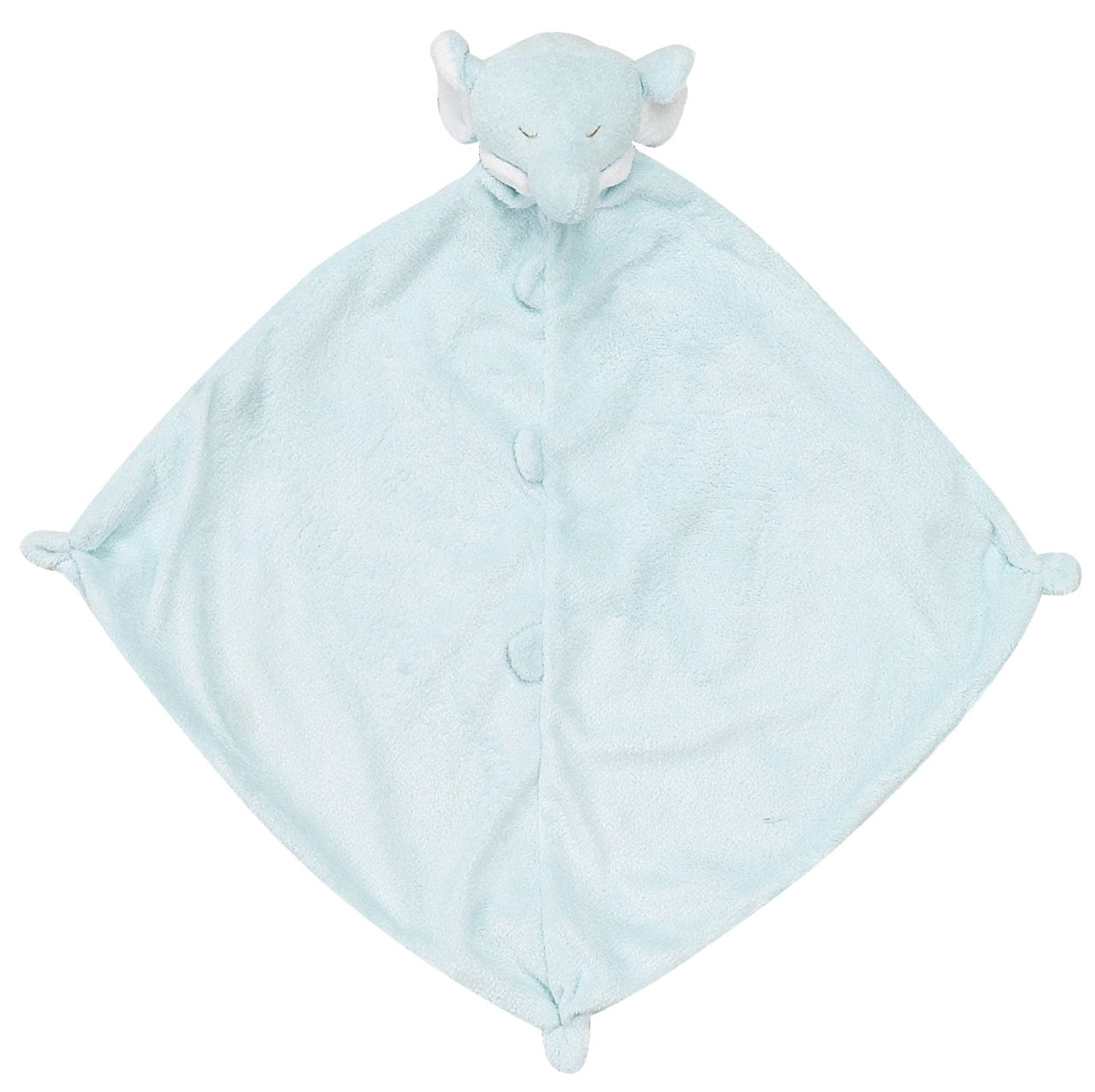 Angel Dear - Lovie Blanket - Elephant (Blue)