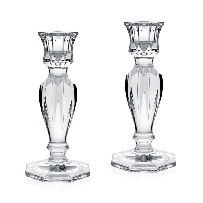 "William Yeoward - Mimi Pair Of Candlesticks 6½"" / 16.5cm"