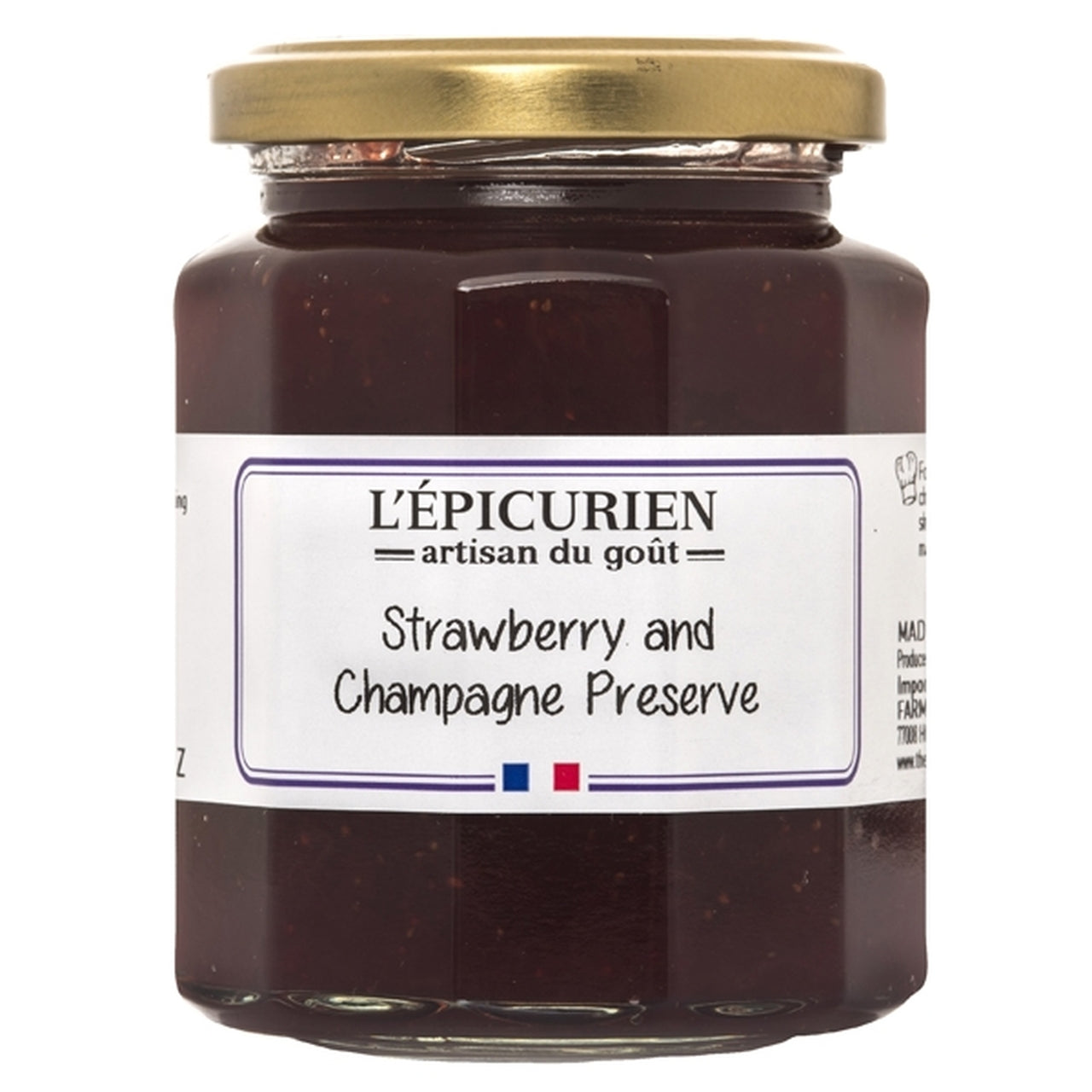 The French Farm - L'Epicurien - Champagne & Strawberry Jam