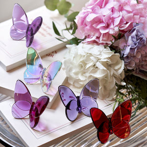 Baccarat - Papillon Lucky Butterfly - Purple