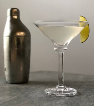 Simon Pearce - Woodbury Martini Glass