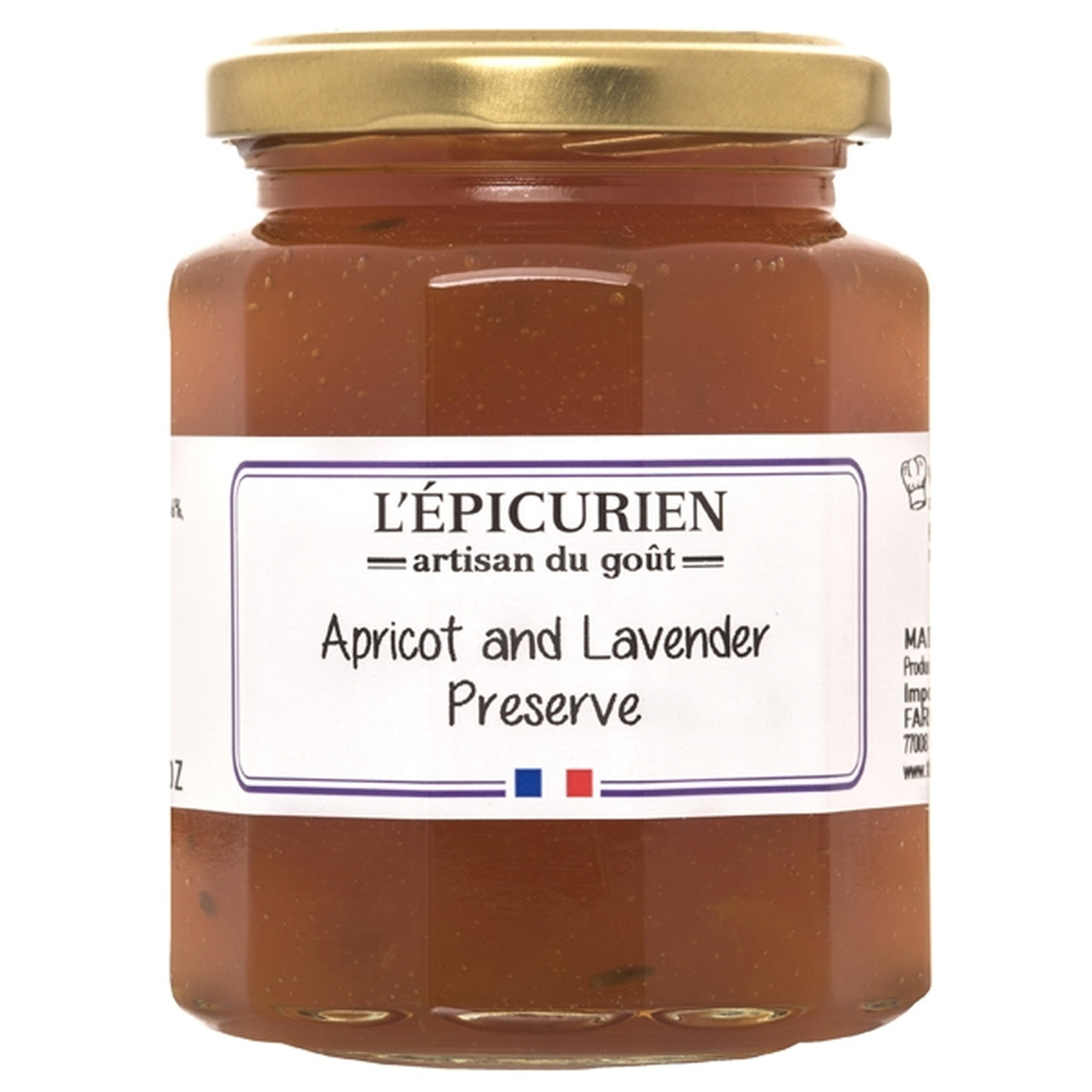 The French Farm - L'Epicurien - Apricot & Lavender Jam