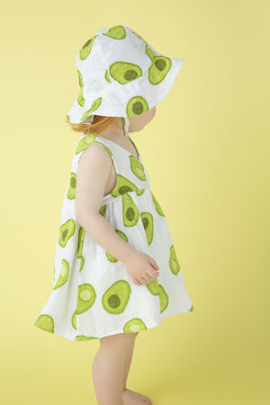 Angel Dear - Kimono Gown & Diaper Cover in Avocado