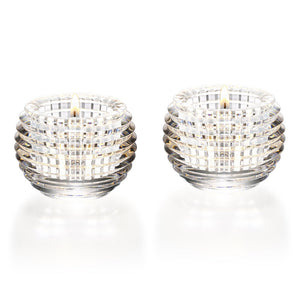 Baccarat - Crystal Eye Votive, Pair