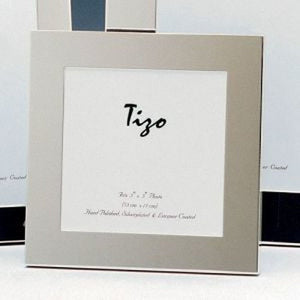 Tizo - Thick Simple Silver Plated Picture Frame