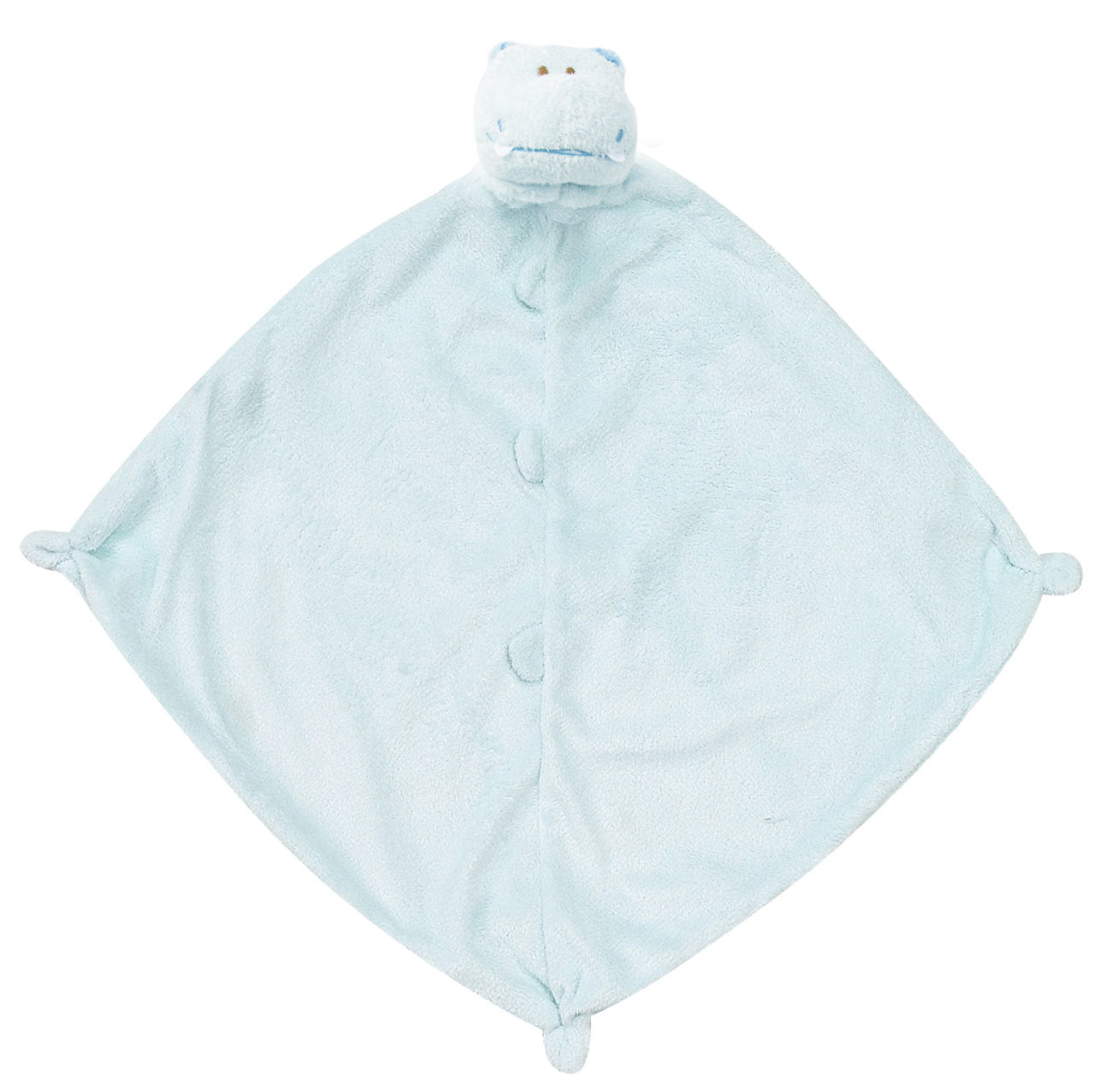 Angel Dear - Lovie Blanket - Hippo (Blue)
