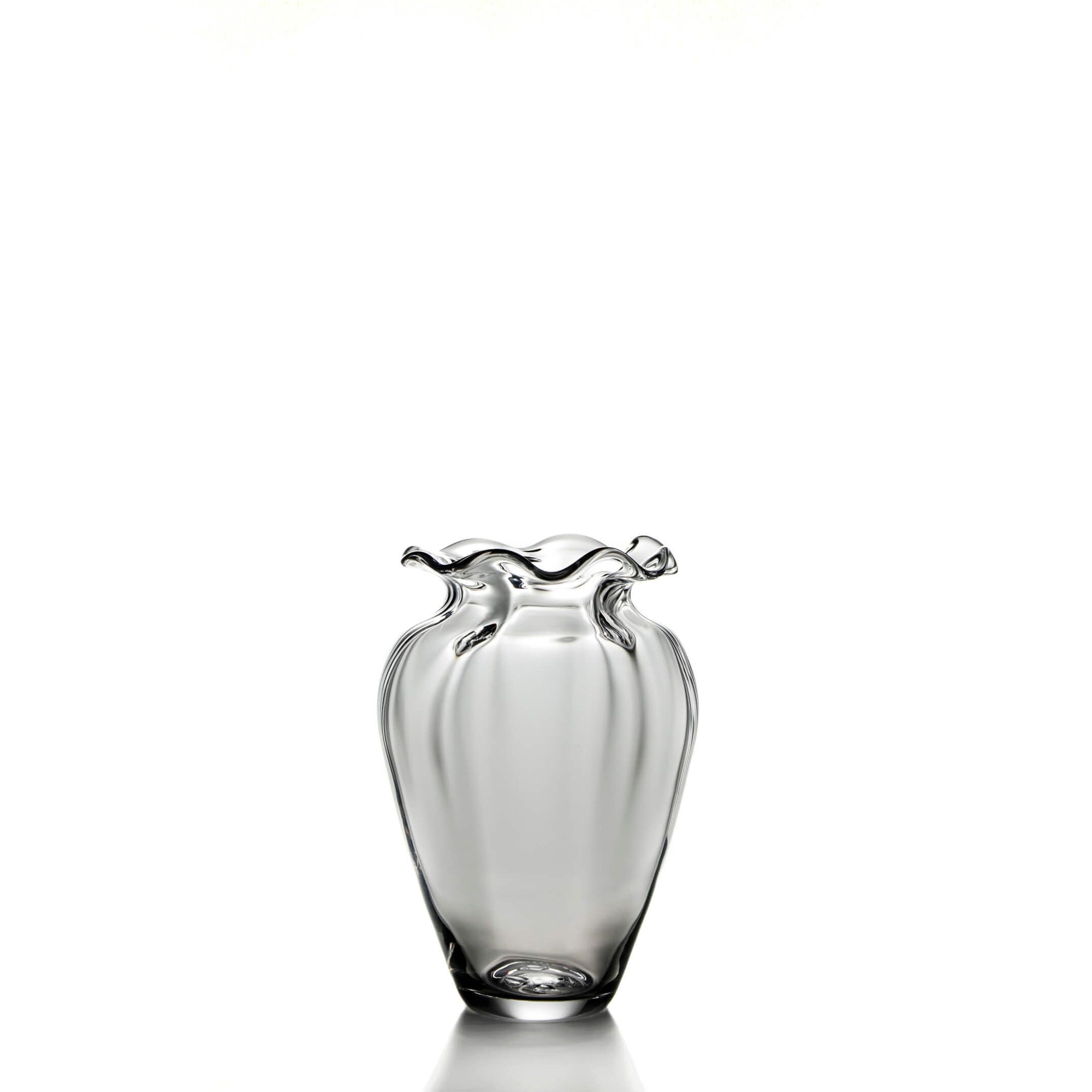 Simon Pearce - Chelsea Optic Cinched Vase - Medium