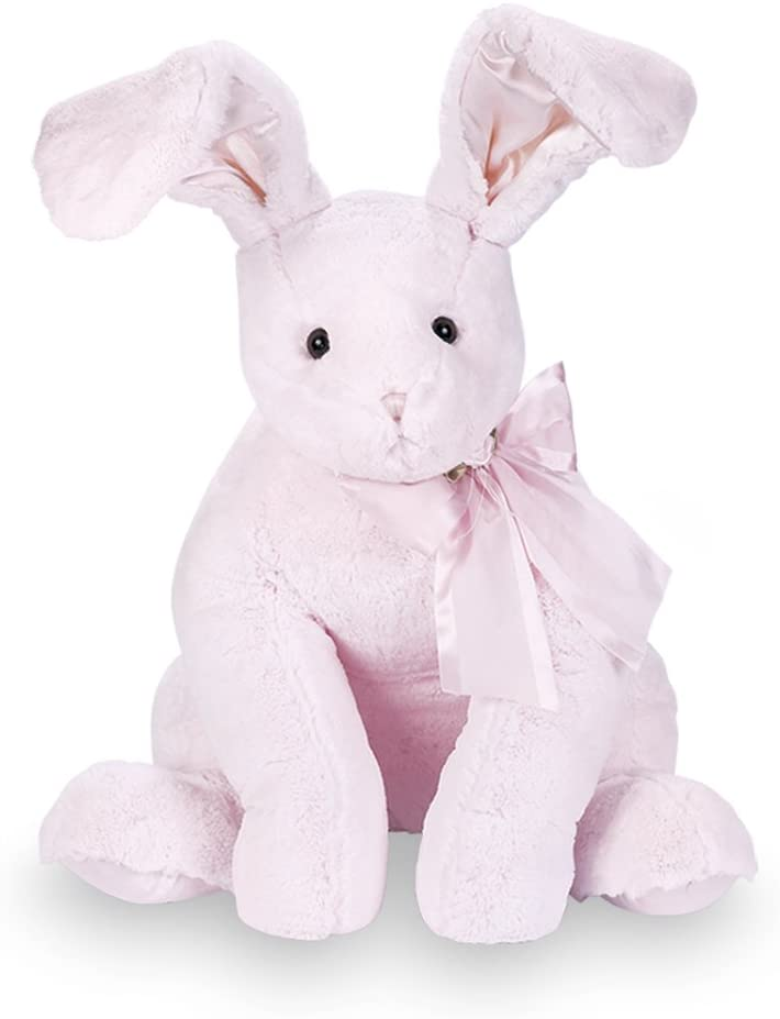 Bearington Baby - Cottontail Lullaby Animated Musical Plush Stuffed Animal Pink Bunny 13""