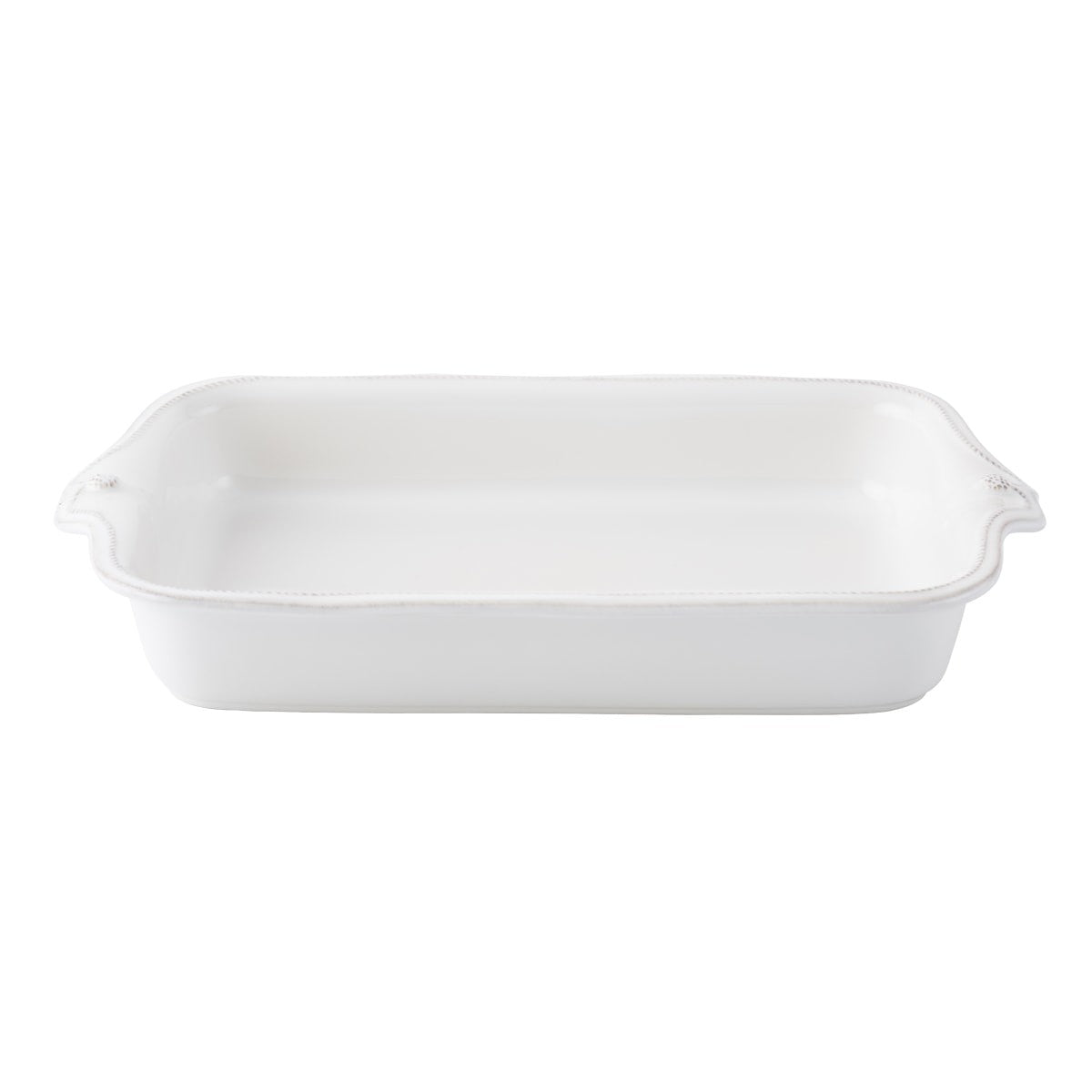 "Juliska - Rectangular Baker B&T White 16""L"