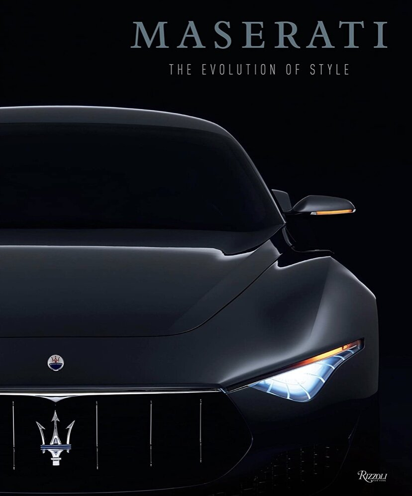 "Book - Maserati - ""The Evolution of Style"" Coffee Table Book"