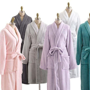Pine Cone Hill - Sheepy Fleece Long Bath Robe - White