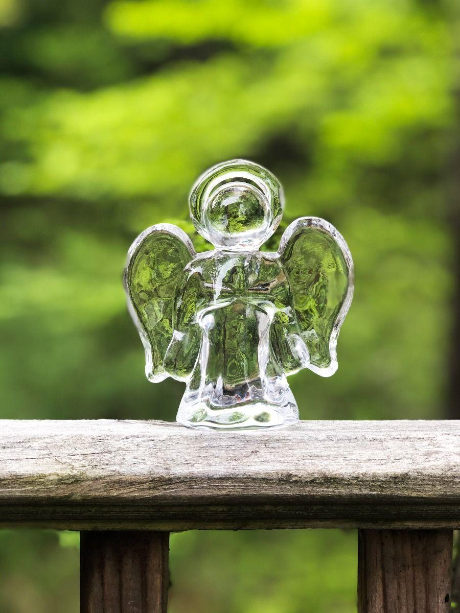 Simon Pearce - Glass Angel - Small
