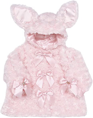 Bearington Baby - Cottontail Pink Bunny Hooded Coat