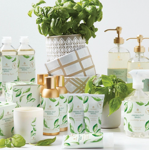 Thymes - Hand Cream - Fresh-Cut Basil