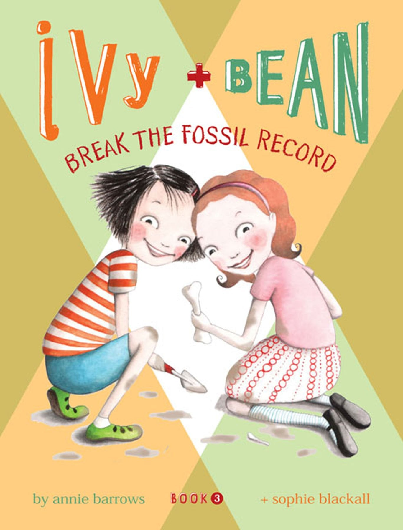 Book - Ivy + Bean - Break the Fossil Record - Book 3