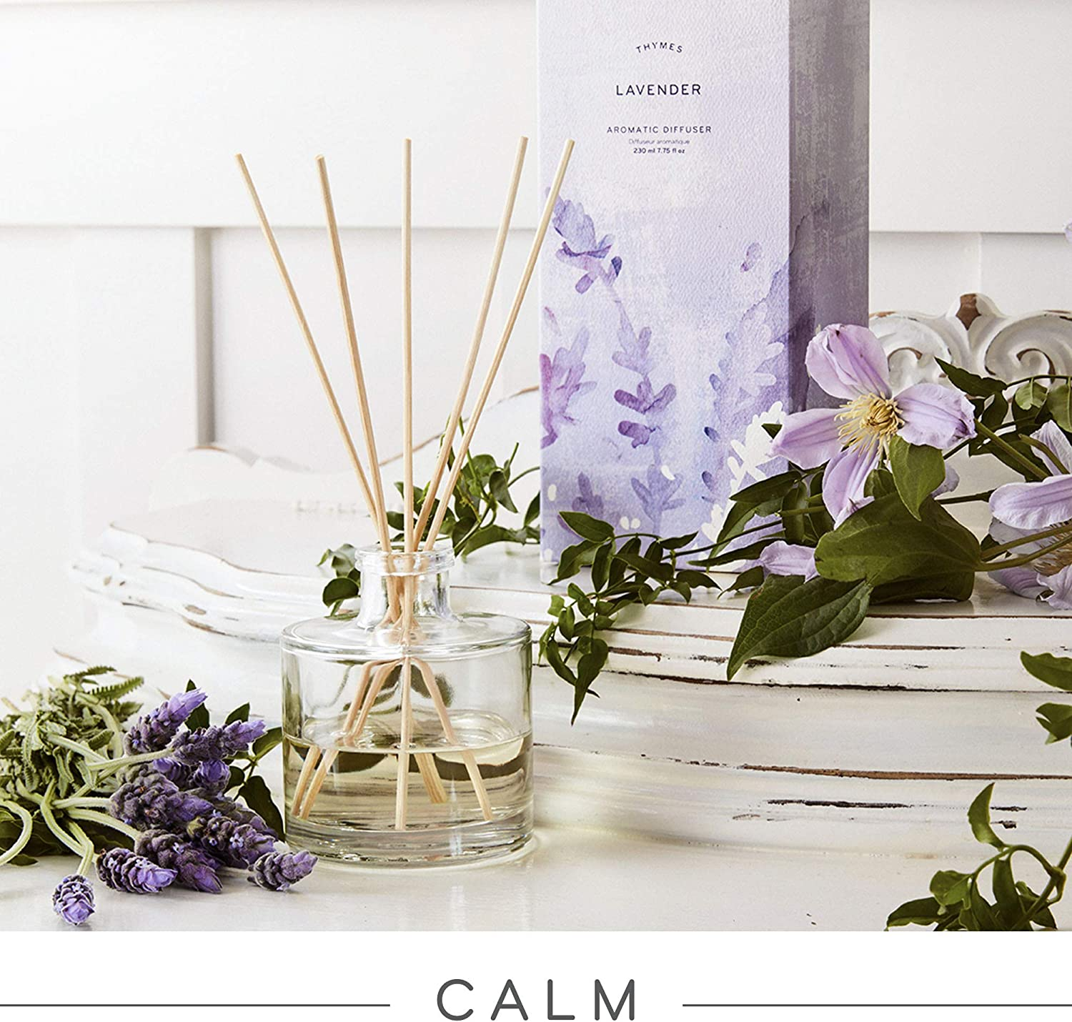 Thymes - Reed Diffuser - Lavender