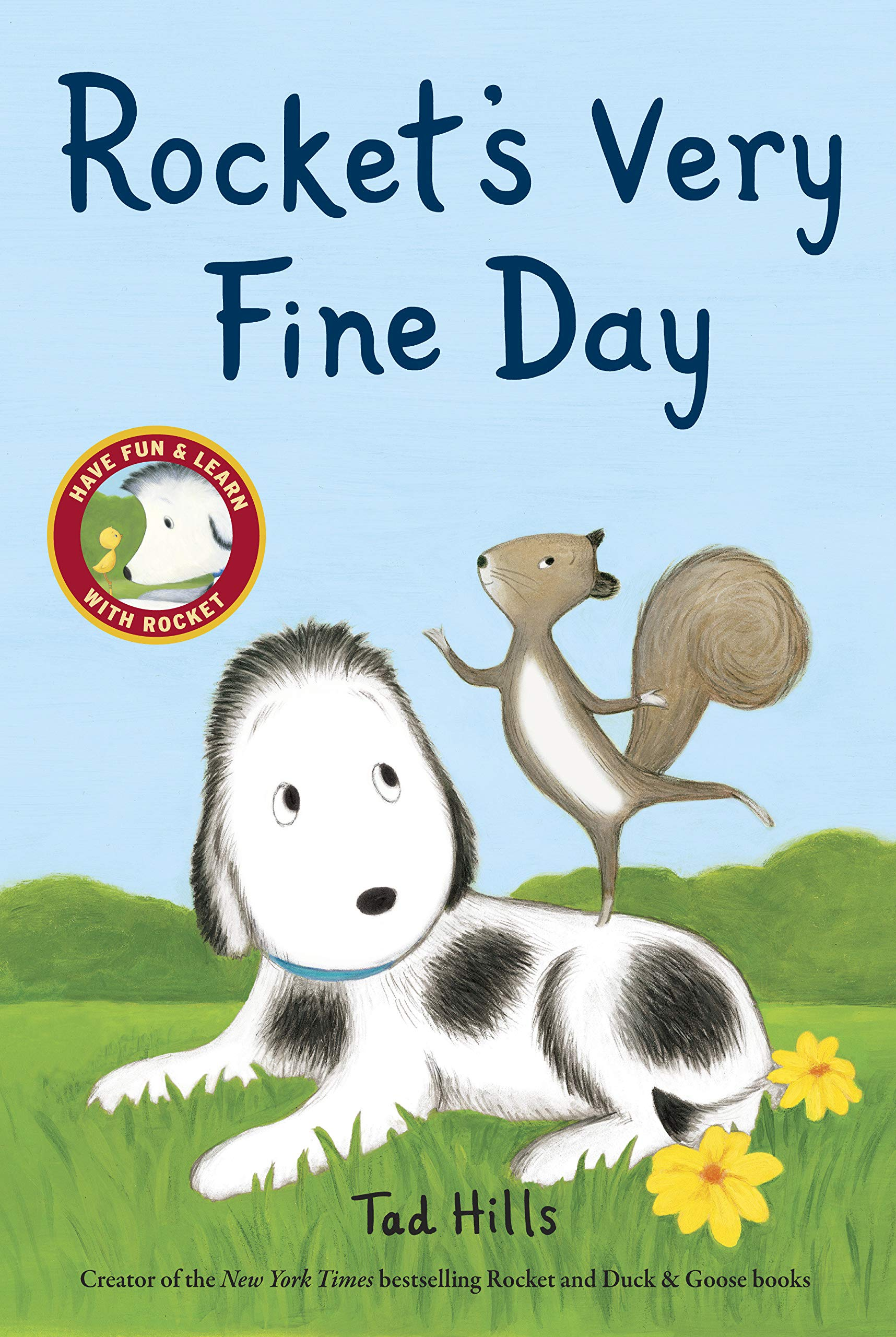 Book - Rocket's Very Fine Day