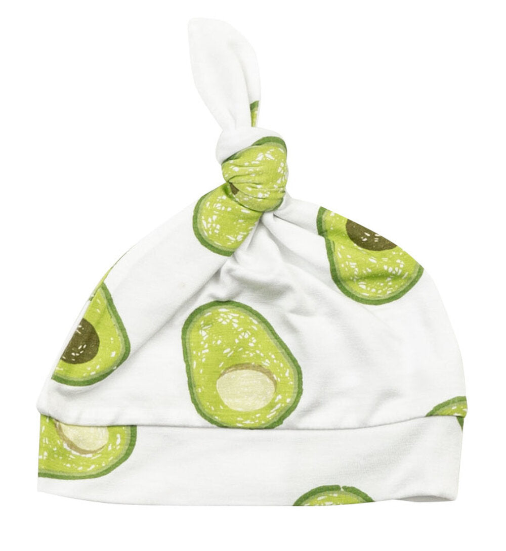 Angel Dear - Beanie in Avocado - 0-3 M