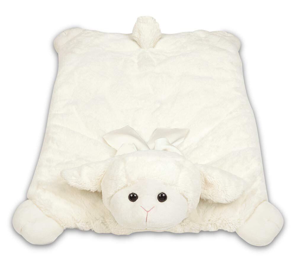Bearington Baby - Plush Belly Play Mat Lamby Plush