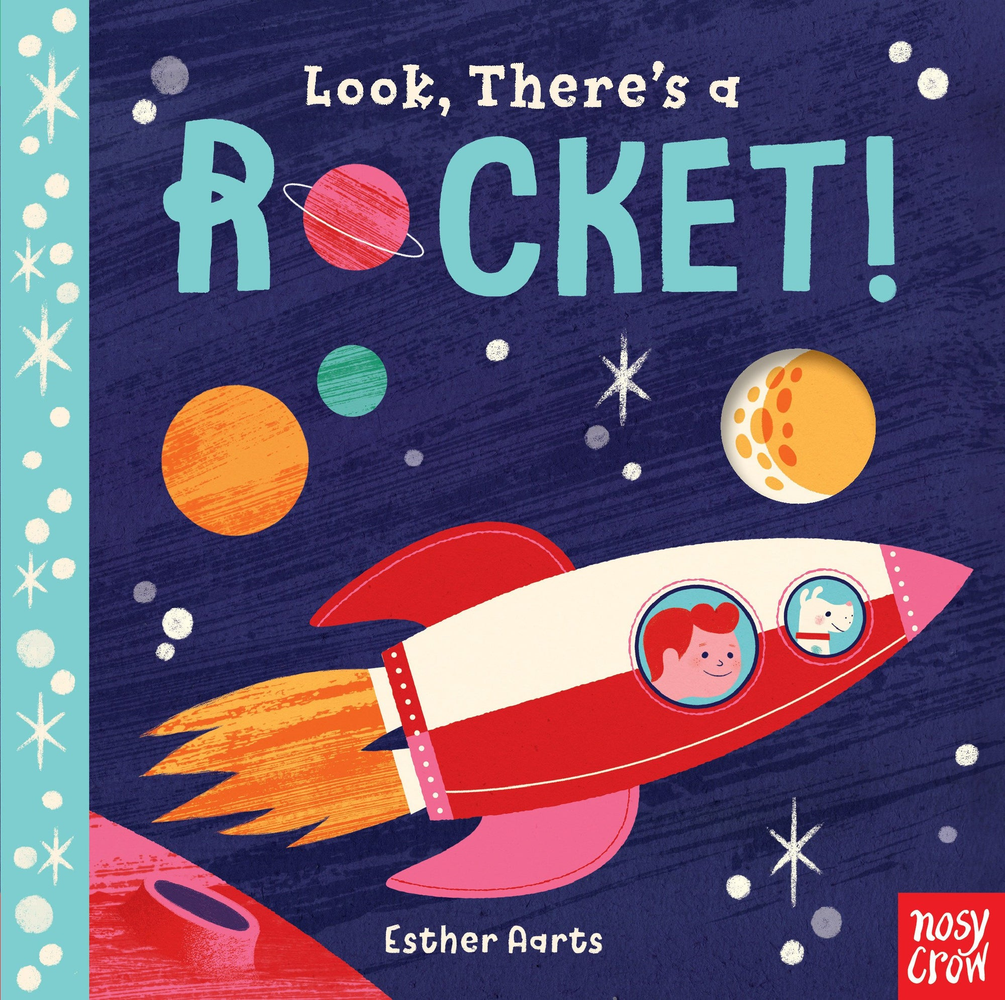Book - Look, There's a Rocket!