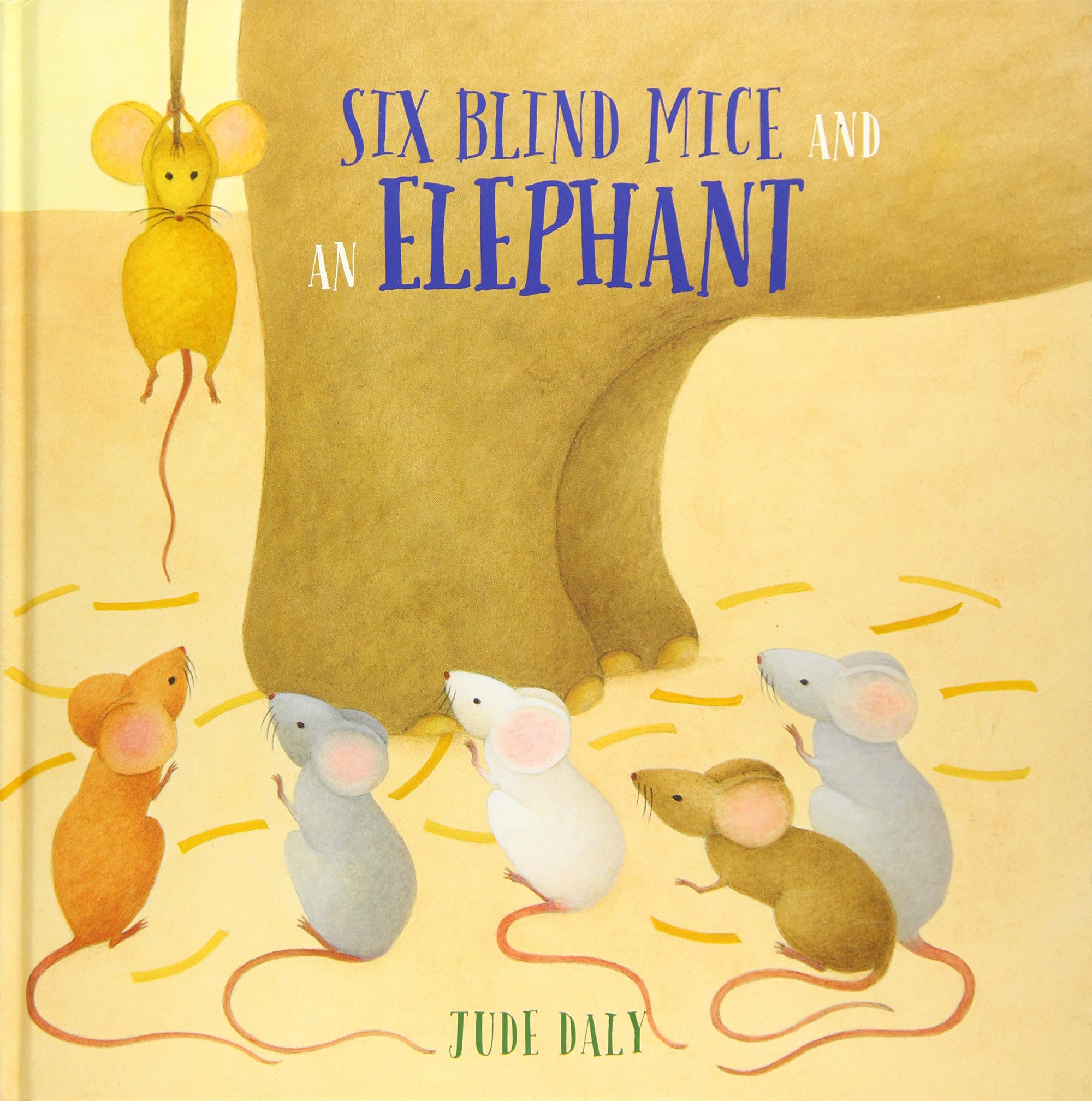 Book - Six Blind Mice and an Elephant