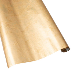 "Caspari - Antique Gold Gift Wrapping Paper on Foil - 30"" x 8' Roll"