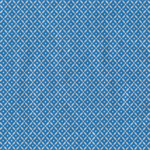 "Caspari - Diamond Brocade Gift Wrapping Paper in Blue Foil - 30"" x 5' Roll"