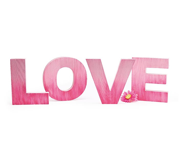 Burton + Burton - Decor LOVE Letters - Ombre