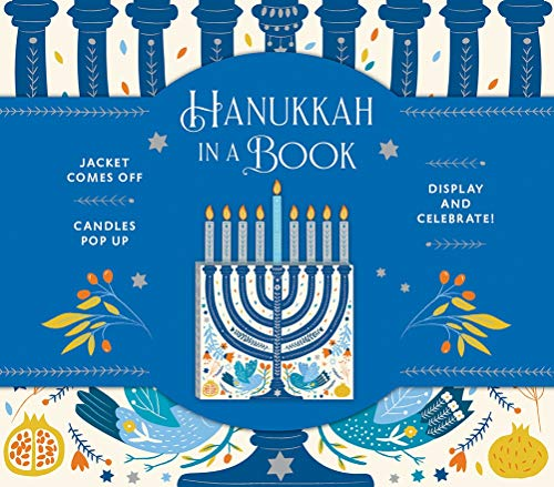 Book - Hanukkah in a Book: Jacket Comes Off. Candles Pop Up. Display and Celebrate!