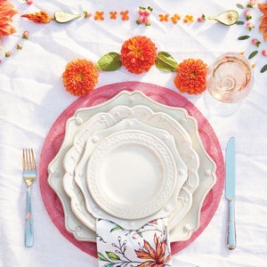Juliska - Berry & Thread Whitewash Scalloped Charger Plate