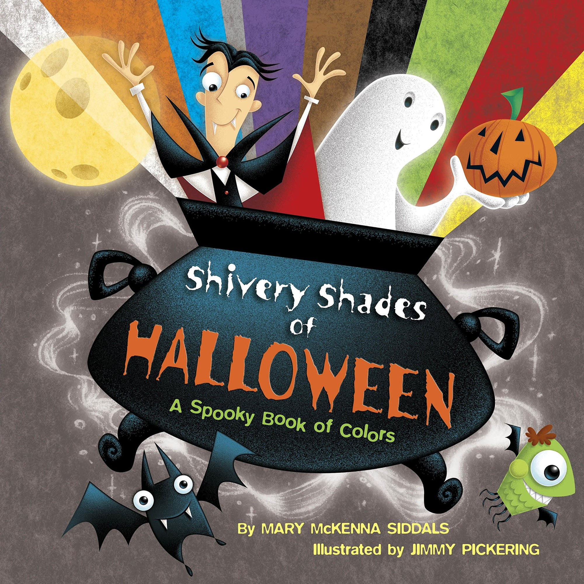 Book - Shivery Shades of Halloween: A Spooky Book of Colors