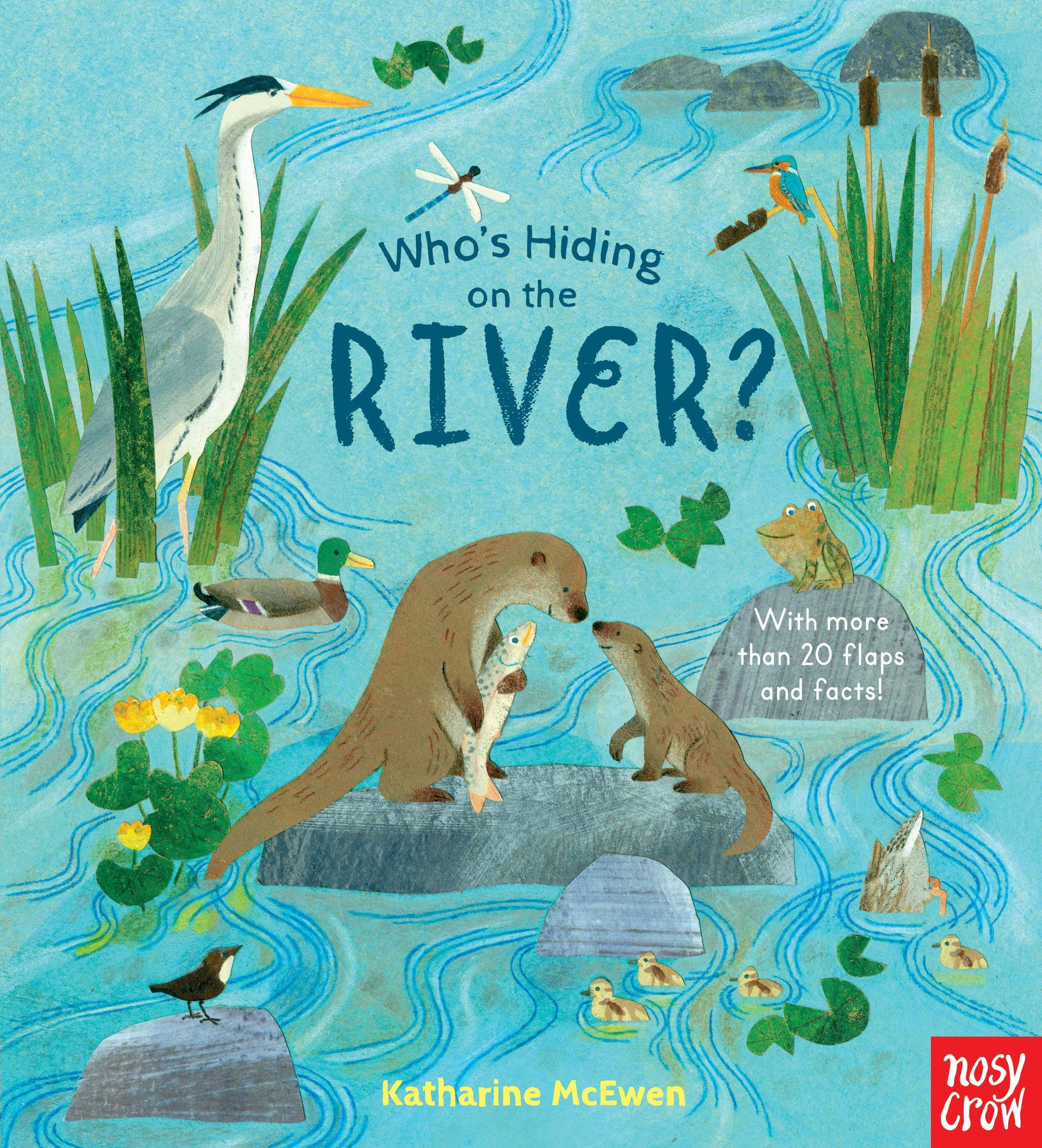 Book - Who's Hiding On The River?