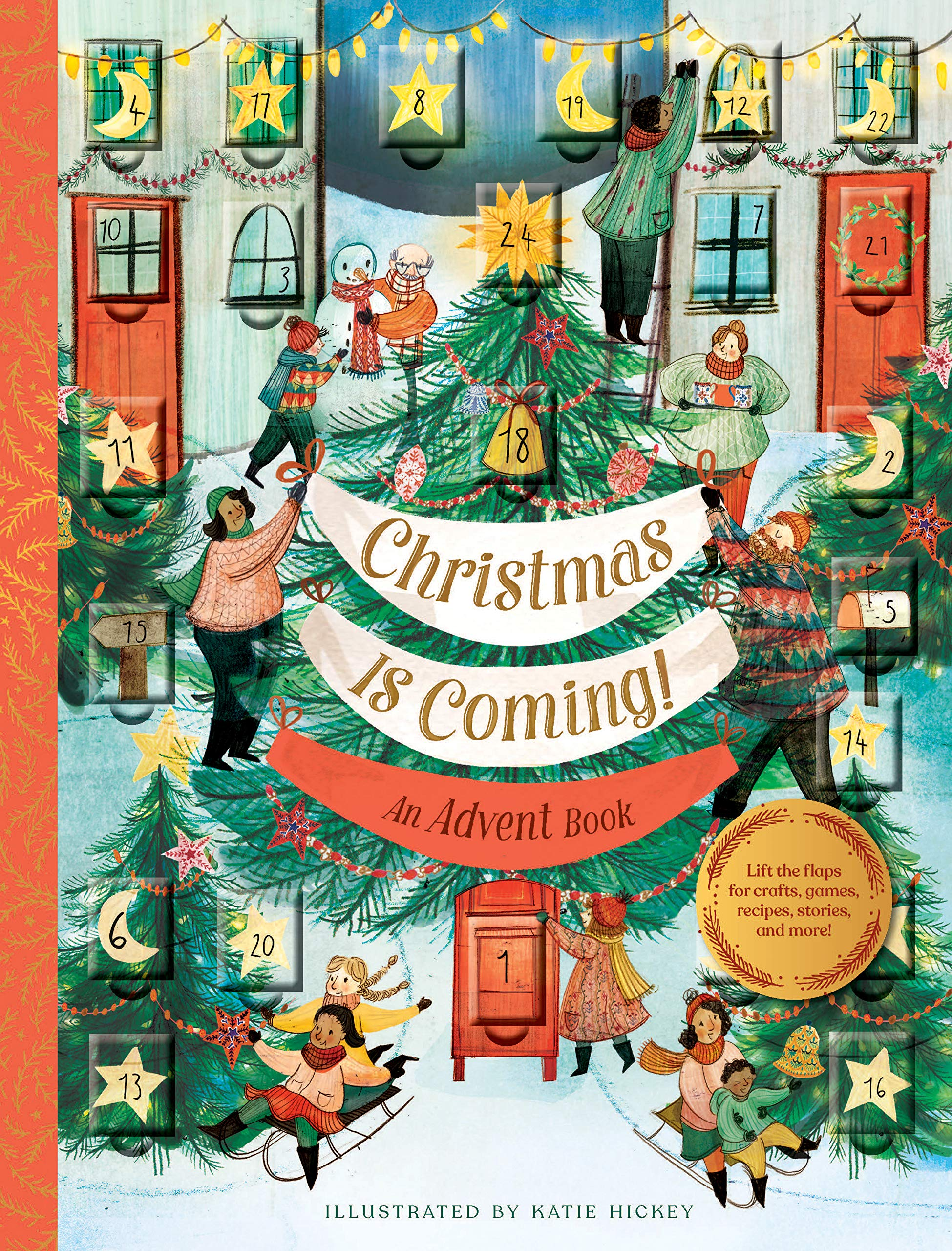 Book - Christmas is Coming: An Advent Book