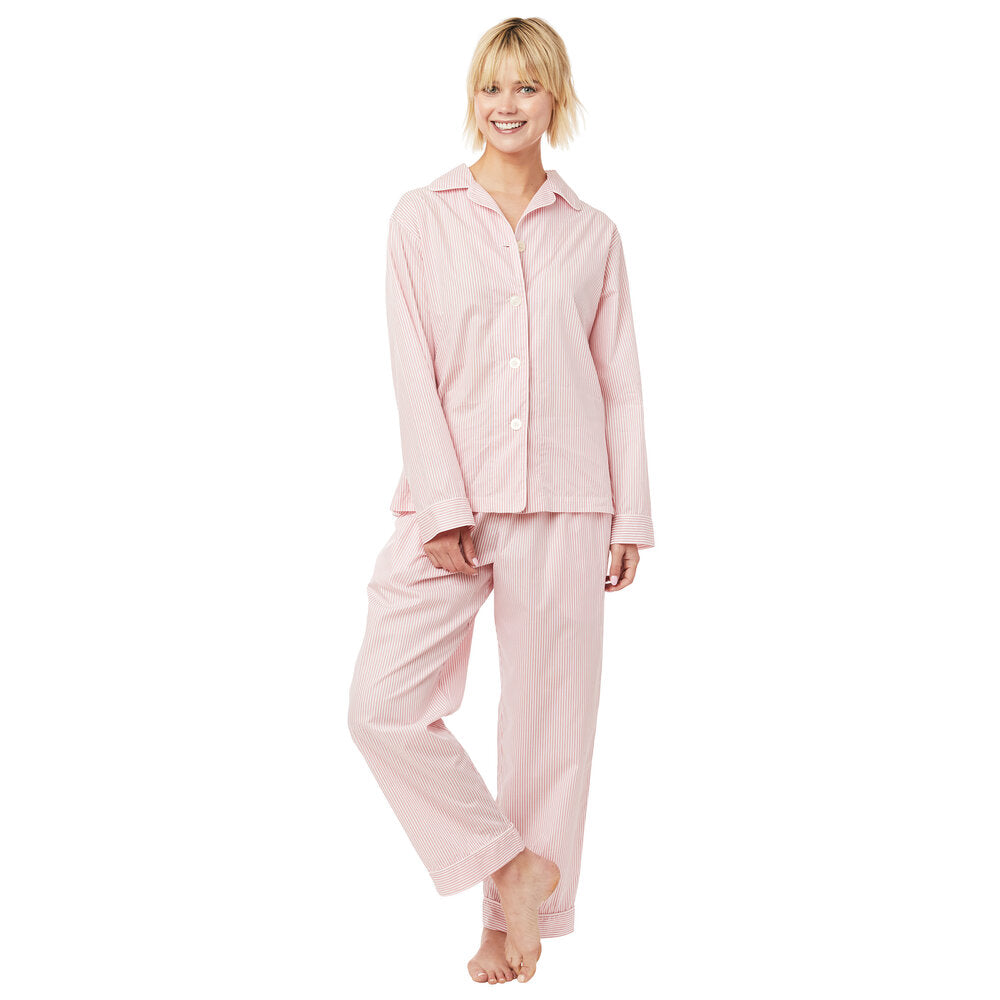 The Cat's Pajamas - Pink Luxe Pima Long