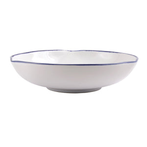 Vietri - Aurora Edge Shallow Bowl