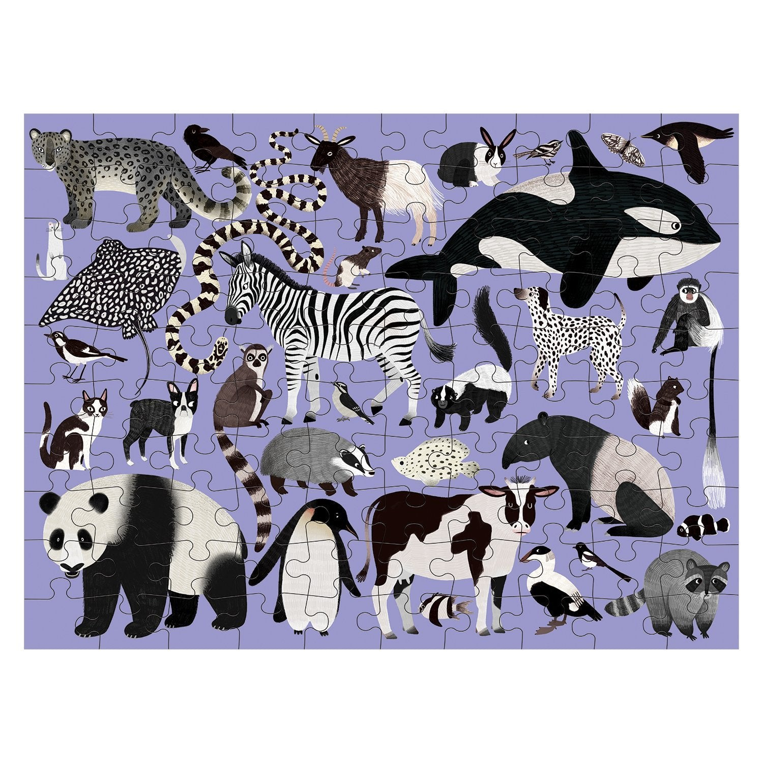 Hachette Book Group - Animal Kingdom Double-Sided 100pc Puzzle