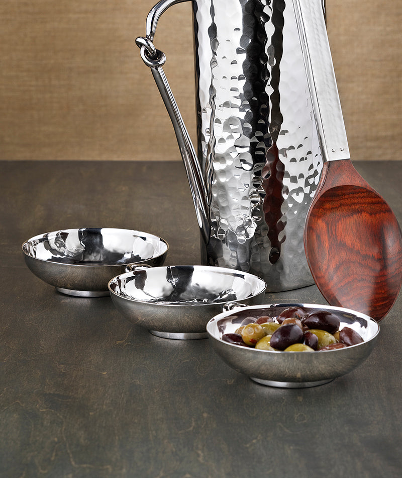 "Mary Jurek Design - Helyx Triple Bowl w/ Knot 4.5"" x 16"""