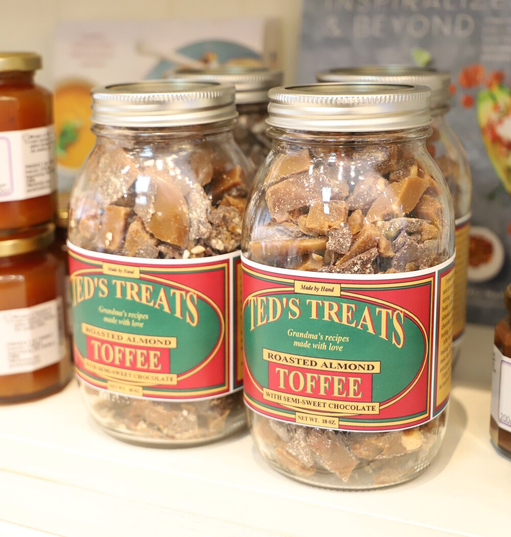 Ted's Treats - Toffee with Semi Sweet Chocolate