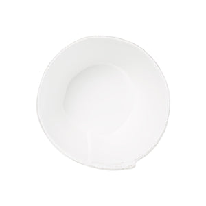 Vietri - Lastra White Medium Stacking Serving Bowl